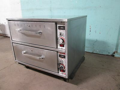 """hatco"" Hd Commercial (Nsf) Electric Heated Ss (2) Drawers Bun/chips Food Warmer"