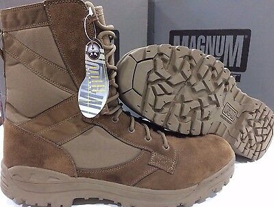 d104f938ec1 NEW MAGNUM AMAZON Desert Brown Army Non-Steel Combat Issue Boots Brown UK15M