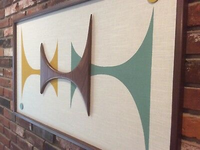 Mid Century Modern Witco Styled Wall Art