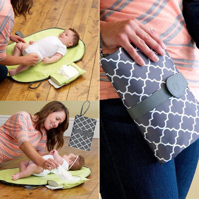 Foldable Washable Nappy Diaper Changing Mat Baby Infant Portable Folding Pad