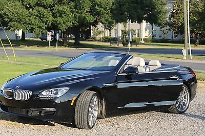 2012 BMW 6-Series 650i Convertible, Bang & Olufsen audio, massage, heated/cooled seats, 400hp twinturbo