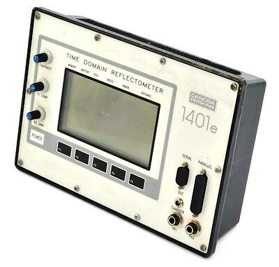 Canoga Perkins Model 1401E Time Domain Reflectometer Tested - Spot on LCD