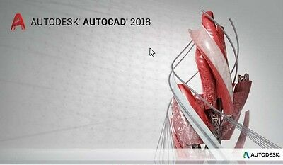 Autodesk Autocad 2017/2018 for Windows/MAC OS - 3 year license