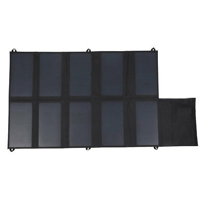 DC 12V 5V Folding Solar Panel Charging Charge For Phones GPS Outdoors Product