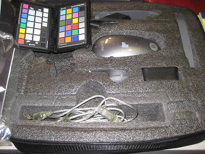 Very Nice x-rite i1 Pro Spectrophotometer Kit with carry case