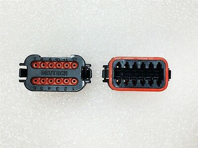 Dt06-12Sb-E003 Deutsch Dt Plug Asm 2 Pieces