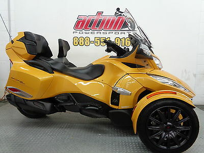 Can-Am Spyder RT-S  2014 Can Am Spyder RT-S SE6 touring trike 6 speed financing shipping