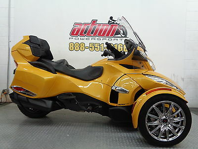Can-Am Spyder RT-S  2013 Can Am Spyder RT-S SE5 Touring Trike Financing Shipping