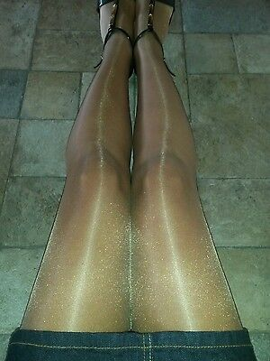 Tights pre owned L glossy