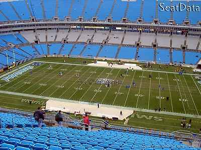 Pittsburgh Steelers @ Carolina Panthers 2 tickets- 08/31/17 Section 537 Row 10