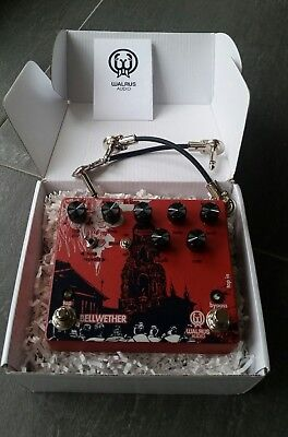 Walrus Bellwether Bucket Brigade 1000ms Analog Delay & Chorus with Tap Tempo