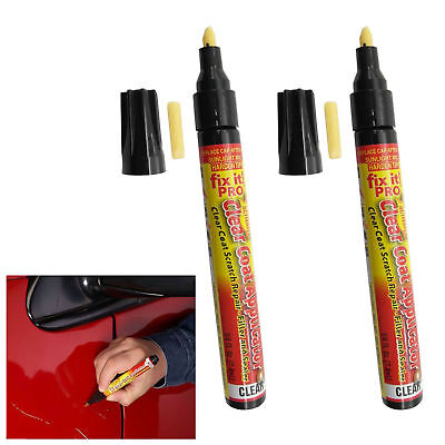 Fix It Pro Clear Car Paint Scratch Remover Repair Coat Sealer Repair Pen Tool
