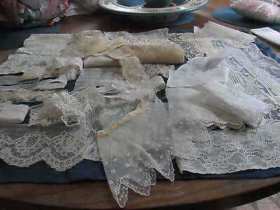 Antique Mix Lot of Laces and Trims