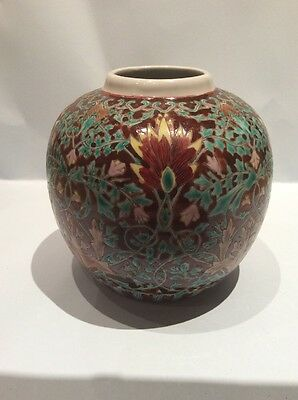 Rare Colours Chinese Millefleurs Ginger Jar