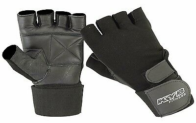 UNISEX Ladies Girls Weight Lifting Gym Wrist Support Wrap Strap Fitness Gloves