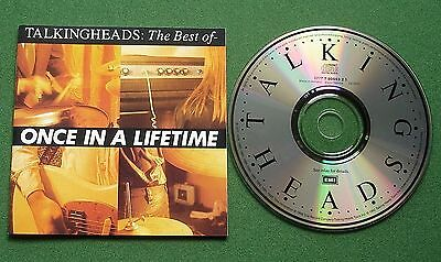 Talking Heads Once In A Lifetime inc Psycho Killer / Wild Wild Life + CD Album