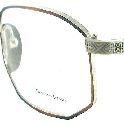 Vintage Glasses Eyeglasses Sunglasses New Frame Eyewear Chai Matte Silver Brown