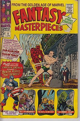 Fantasy Masterpieces 8 - 1967 - Golden Age reprints - Kirby - Fine