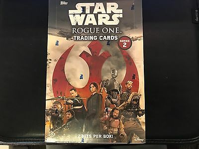 Topps Star Wars Rogue One Series II Trading Card Factory Sealed