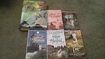 Lot of 8~Anne of Green Gables~Books by Lucy Maud MONTGOMERY~3 in1 Volume+5 more
