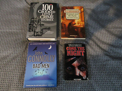 Horror/Crime Fiction Book Bundle