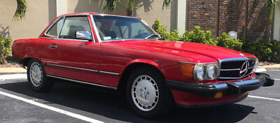 1989 Mercedes-Benz 500-Series 560 Series 2dr Coupe 560SL Roadster 1988 MERCEDES BENZ 560SL CONVERTIBLE TWO TOPS CLEAN CARFAX BEAUTIFUL