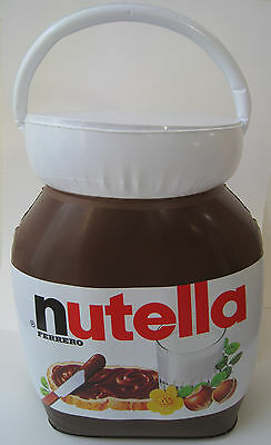 Nutella Inflatable Blow Up Vinyl Jar 24 Inch.tall  Rare Unique