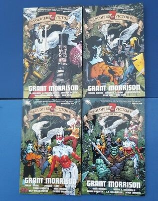Seven Soldiers Of Victory: Issues Vol 1 2 3 & 4  collectors 2006 DC Comic - Mint