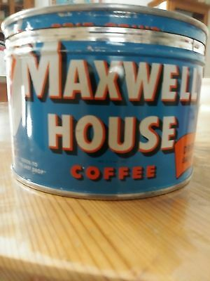 Maxwell House Vintage coffee can