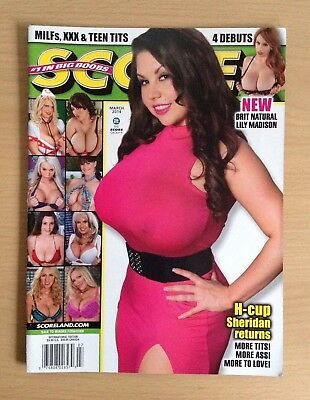 Score Magazine Vol.23 No.3 March 2014 Sheridan Love Lily Madison Rare