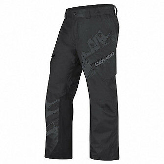 Can-Am Men's Team Waterproof Pants-Black