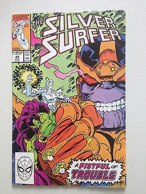 Silver Surfer # 44 1st App. Infinity Gauntlet (Avengers Movie) F