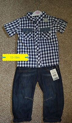 BNWT Baby Boys Outfit Size 12-18m 12-18