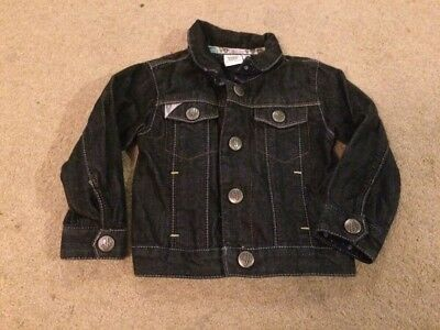 Baby Boys Dark Blue Denim Jacket Aged6-9 Months From Ted Baker