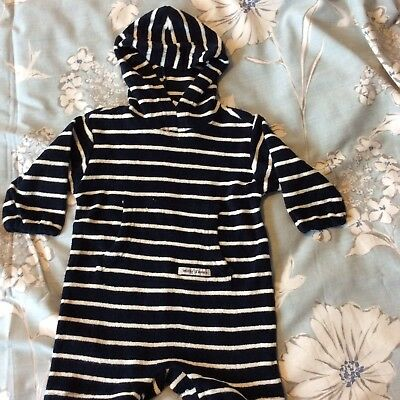 Boys Towelling Beach Suit 6/12 Months