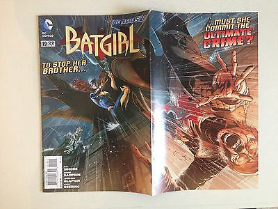 Batgirl # 19 (DC New 52) Fold out cover NM