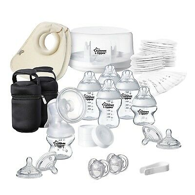 Tommee Tippee  Microwave Steriliser Breast Pump Set Closer to Nature *BRAND NEW*