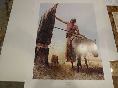 Lee Teter STILL STANDING  Signed & Numbered Limited Edition FIne Art Print