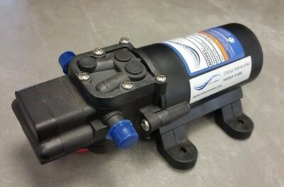 Everflo Diaphragm Pump 12volt 1.0 GPM, 40 PSI