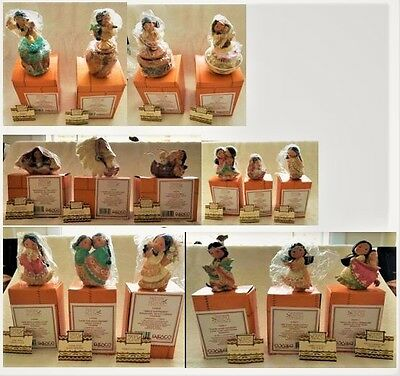 COLLECTION of 16 Vintage1994 Enesco Friends of the Feather Figurines