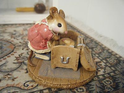 Price Reduction! Wee Forest Folk 'Attic Treasure' M-126 Retired