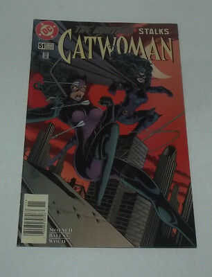 Neat 1997 Dc Comics Catwoman Comic Book Issue #51