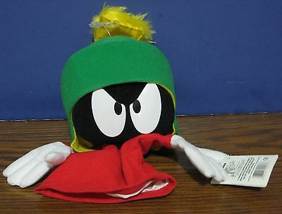 """Looney Tunes Marvin the Martian 10"""" Hand Puppet - Applause - 1994 Vintage"""