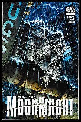 Vengeance Of The Moon Knight #1 (2009) David Finch 1:20 Variant Cover 8.0 Vf