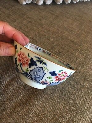 Antique Chinese Export Porcelain Tea Bowl China Trade Ching Dynasty type 18/19c