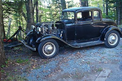 1932 Ford Other standard 1932 ford coupe 5 Window unrestored driver