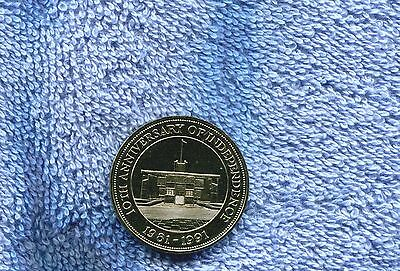 Belize 10.00 Coin Proof 1991 Km 102 Nr 6.50