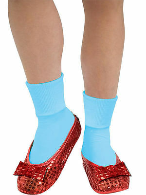 The Wizard of Oz Dorothy Girls Ruby Red Slippers Shoe Covers Childs