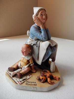 """Norman Rockwell Exasperated Nannie (6"""" Tall) - Please Read Description"""
