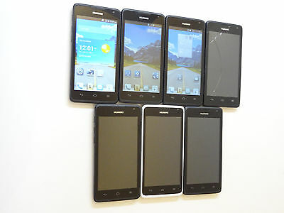 Lot of 7 Huawei Ascend Y530 U051 Smartphones Unknown Carrier AS-IS